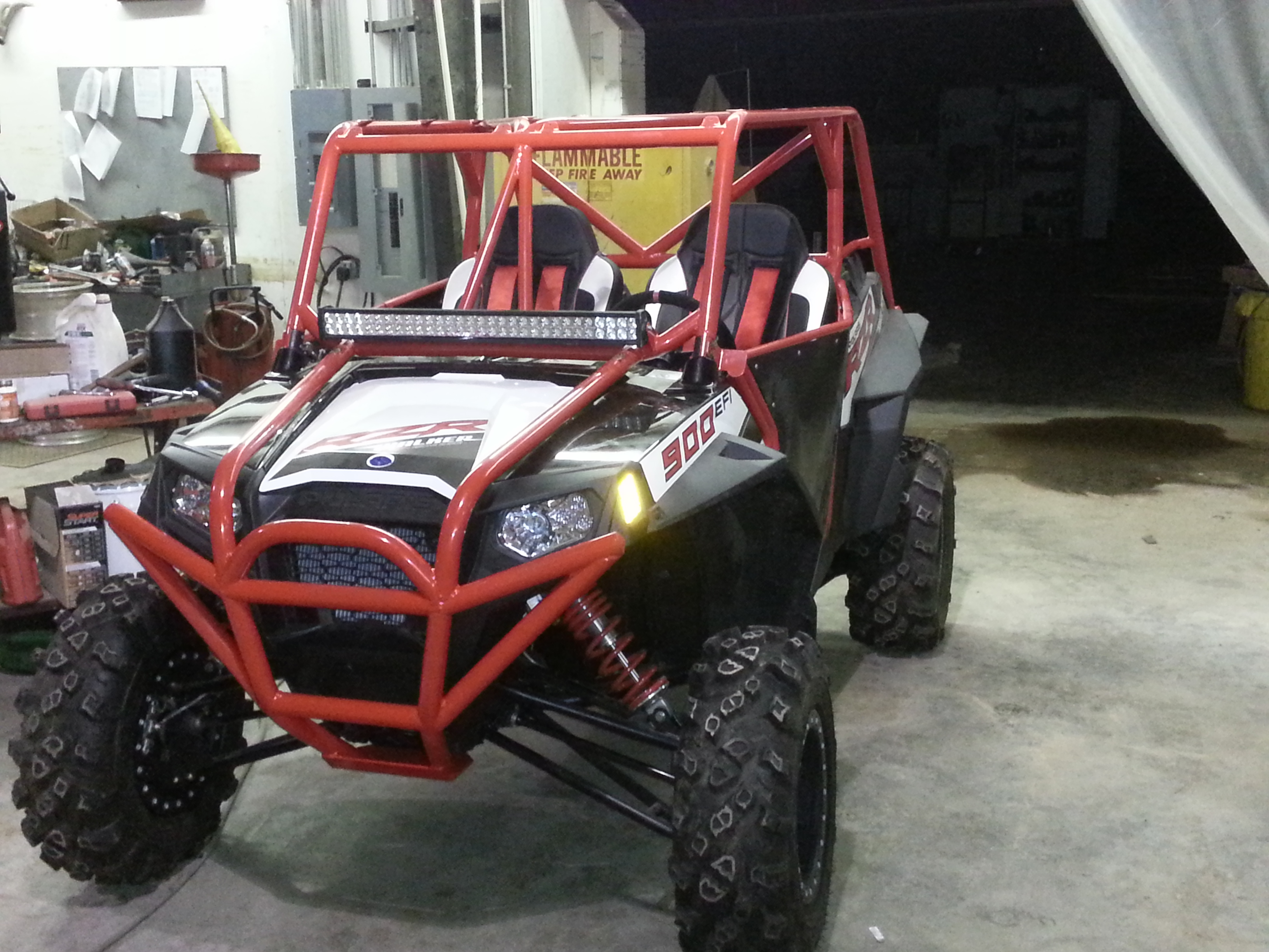 Gilbert Designs RZR 900 and 900s Custom Roll Cage
